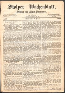 Stolper Wochenblatt. Zeitung für Hinterpommern № 10