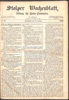 Stolper Wochenblatt. Zeitung für Hinterpommern № 11