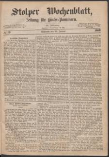 Stolper Wochenblatt. Zeitung für Hinterpommern № 13