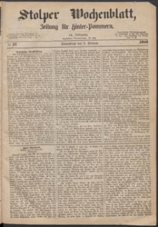 Stolper Wochenblatt. Zeitung für Hinterpommern № 17