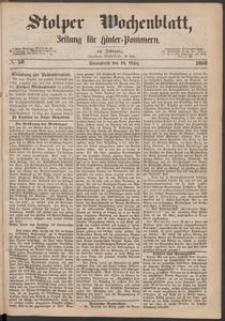 Stolper Wochenblatt. Zeitung für Hinterpommern № 38