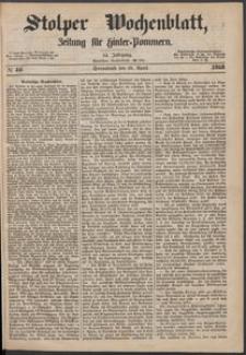 Stolper Wochenblatt. Zeitung für Hinterpommern № 46