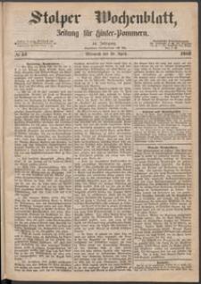 Stolper Wochenblatt. Zeitung für Hinterpommern № 51