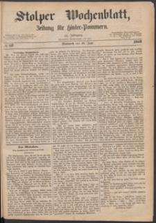 Stolper Wochenblatt. Zeitung für Hinterpommern № 68