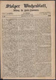 Stolper Wochenblatt. Zeitung für Hinterpommern № 69
