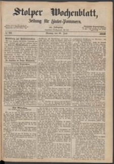 Stolper Wochenblatt. Zeitung für Hinterpommern № 76