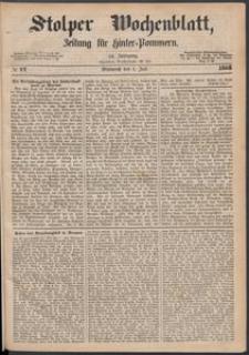 Stolper Wochenblatt. Zeitung für Hinterpommern № 77