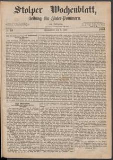 Stolper Wochenblatt. Zeitung für Hinterpommern № 78