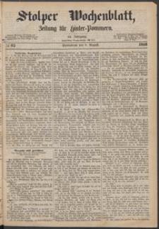 Stolper Wochenblatt. Zeitung für Hinterpommern № 93