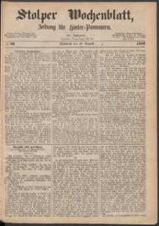 Stolper Wochenblatt. Zeitung für Hinterpommern № 98
