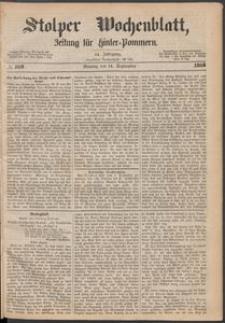 Stolper Wochenblatt. Zeitung für Hinterpommern № 109