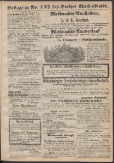 Beilage zu № 132 des Stolper Wochenblatt
