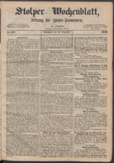 Stolper Wochenblatt. Zeitung für Hinterpommern № 149