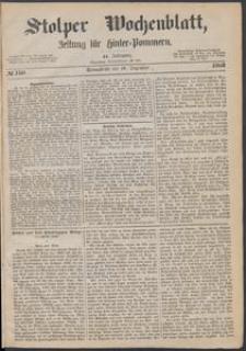 Stolper Wochenblatt. Zeitung für Hinterpommern № 150