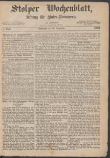 Stolper Wochenblatt. Zeitung für Hinterpommern № 154