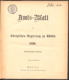 Amts-Blatt der Königlichen Regierung zu Köslin 1896