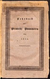 Jahrbuch der Provinz Pommern 1824