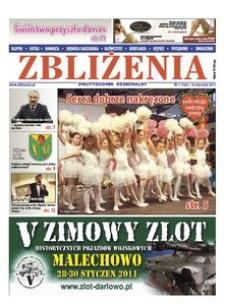 Zbliżenia : dwutygodnik regionalny, 2011, nr 1