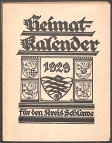 Heimatkalender für den Kreis Schlawe 1929