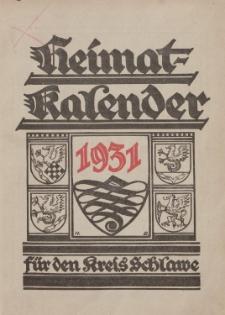 Heimatkalender für den Kreis Schlawe 1931