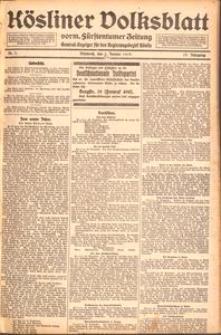 Kösliner Volksblatt [1919] Nr. 1
