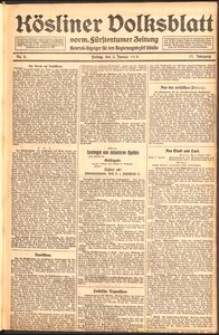 Kösliner Volksblatt [1919] Nr. 2