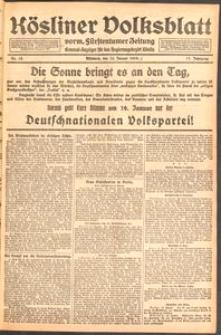Kösliner Volksblatt [1919] Nr. 12
