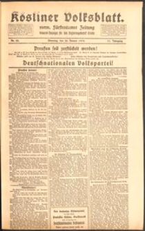 Kösliner Volksblatt [1919] Nr. 22