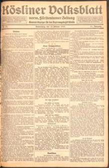 Kösliner Volksblatt [1919] Nr. 37