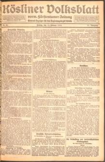Kösliner Volksblatt [1919] Nr. 38