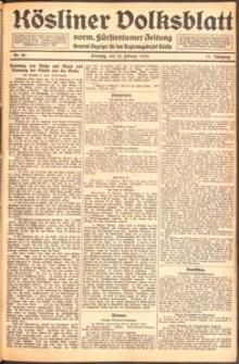 Kösliner Volksblatt [1919] Nr. 46
