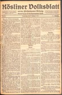 Kösliner Volksblatt [1919] Nr. 49