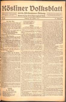 Kösliner Volksblatt [1919] Nr. 52