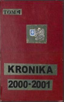Kronika Zrzeszenia Kaszubsko-Pomorskiego. Oddział w Wejherowie. T. 4 (2000-2001)