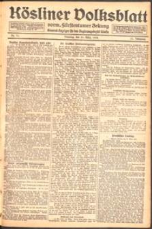 Kösliner Volksblatt [1919] Nr. 71