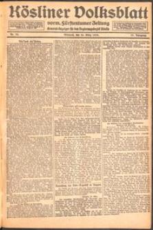 Kösliner Volksblatt [1919] Nr. 72