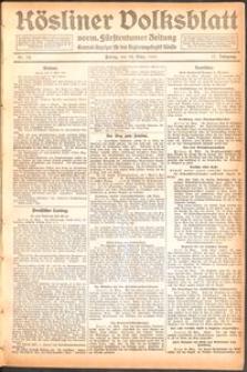 Kösliner Volksblatt [1919] Nr. 74