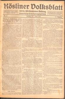 Kösliner Volksblatt [1919] Nr. 77