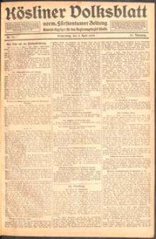 Kösliner Volksblatt [1919] Nr. 79