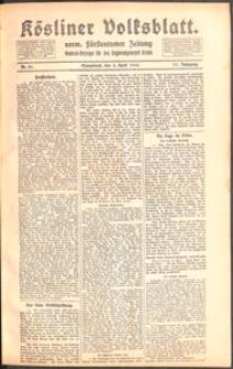 Kösliner Volksblatt [1919-04] Nr. 81