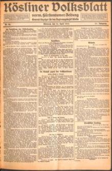 Kösliner Volksblatt [1919-04] Nr. 90
