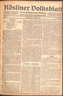 Kösliner Volksblatt [1919-04] Nr. 93