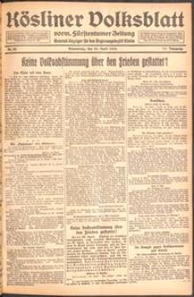 Kösliner Volksblatt [1919-04] Nr. 95