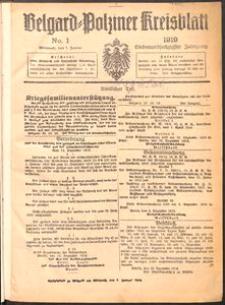 Belgard-Polziner Kreisblatt 1919