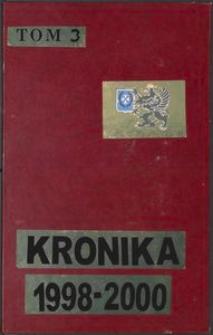 Kronika Zrzeszenia Kaszubsko-Pomorskiego. Oddział w Wejherowie. T. 3 (1998-2000)