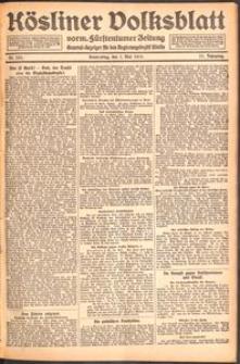 Kösliner Volksblatt [1919-05] Nr. 101