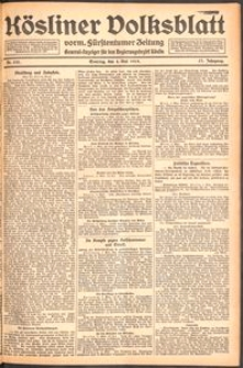 Kösliner Volksblatt [1919-05] Nr. 103