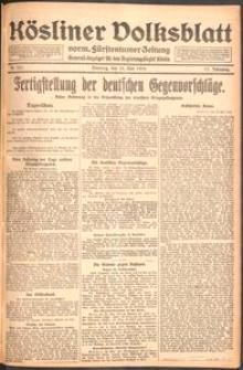 Kösliner Volksblatt [1919-05] Nr. 121