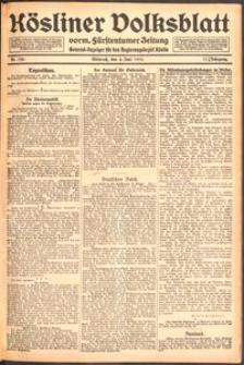 Kösliner Volksblatt [1919-06] Nr. 128