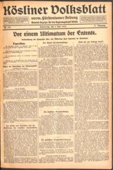 Kösliner Volksblatt [1919-06] Nr. 129